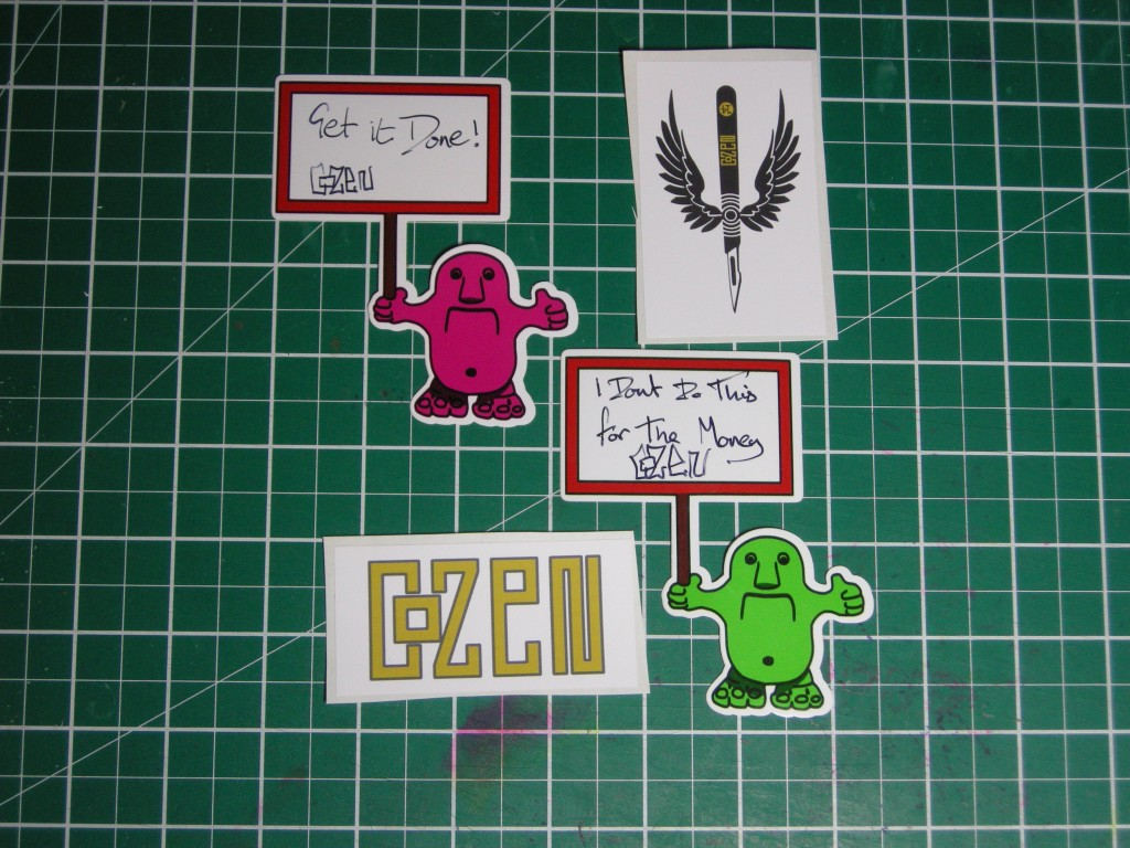 Stickers by Cozen