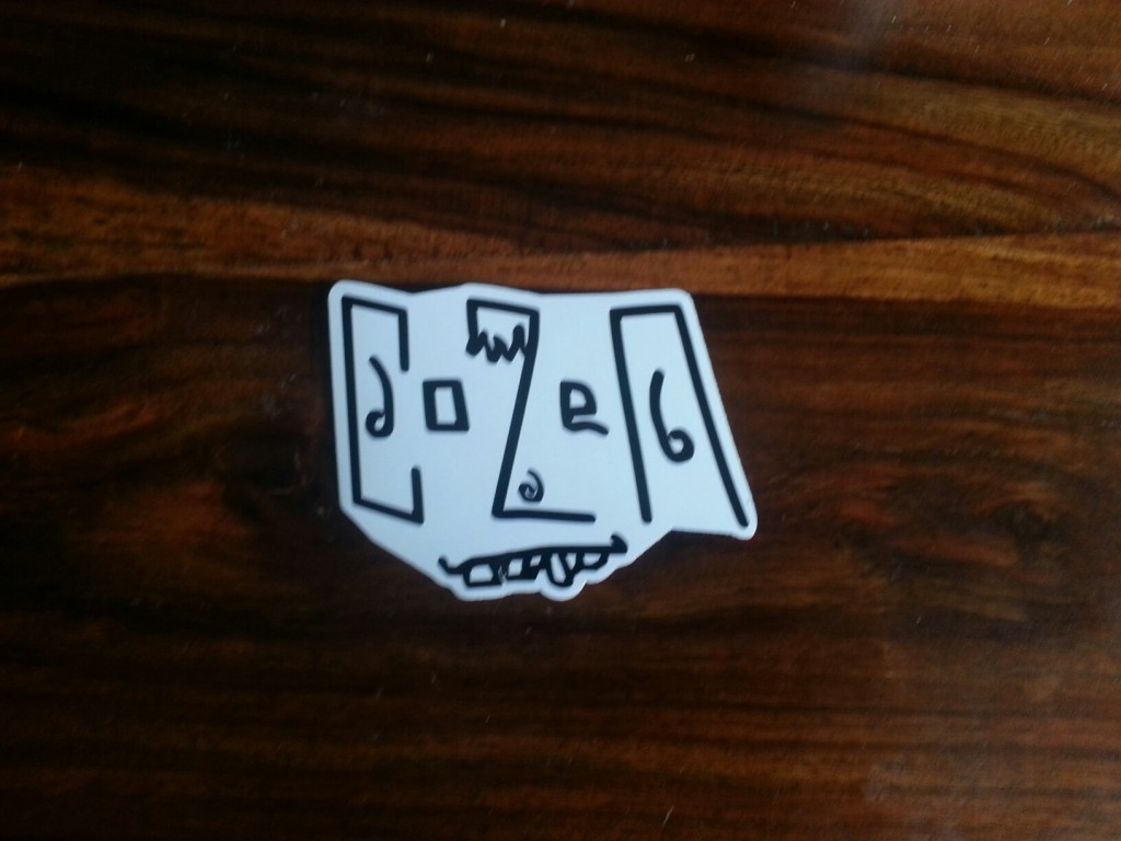 Cozen vinyl stickers